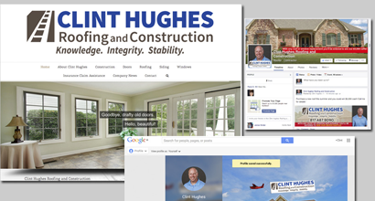 Roofer Website Example