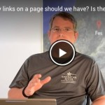 Does Google penalize you for having too many links on a page?